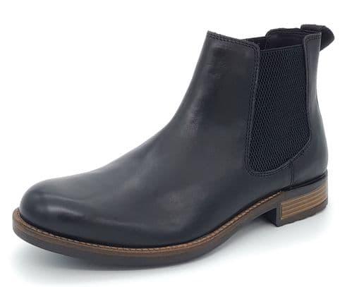 HX London - Hampton Leather Chelsea Boots Black